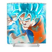 Goku In Dragon Ball Super  Shower Curtain