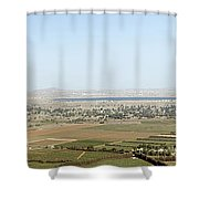 Golan Heights Shower Curtain