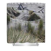 Gold Beach Oregon Beach Grass 15 Shower Curtain