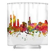 Gold Coast Australia Cityscape 08 Shower Curtain