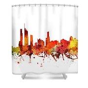 Gold Coast Cityscape 04 Shower Curtain