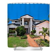 Gold Coast Home Shower Curtain