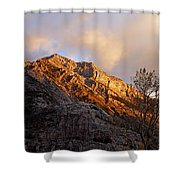 Gold In Them Thar Hills Shower Curtain