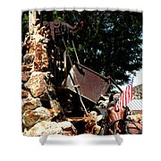 Gold Mining Virginia City Nv Shower Curtain