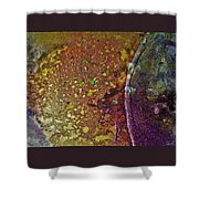 Gold Path Shower Curtain