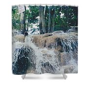 Gold Rock Shower Curtain