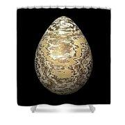 Gold-speckled Egg Shower Curtain