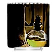 Gold Spirits Shower Curtain