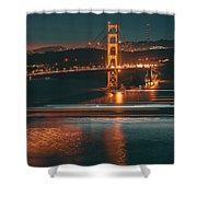 Golde Gate Bridge Shower Curtain