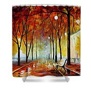 Golde Park Shower Curtain
