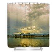 Golden Afternoon Shower Curtain