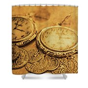 Golden Age Of Fashion Shower Curtain