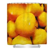 Golden Apples Of The Sun Shower Curtain