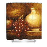 Golden Carafe Shower Curtain