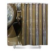 Golden Class Shower Curtain