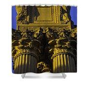 Golden Columns Palace Of Fine Arts Shower Curtain