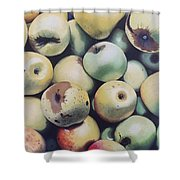 Golden Delicious Shower Curtain
