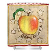 Golden Delicious Two Shower Curtain
