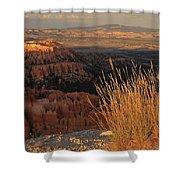 Golden Evening Light Bryce Canyon 1 Shower Curtain