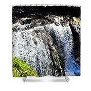 Golden Falls, Oregon Shower Curtain