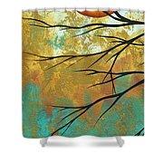 Golden Fascination 1 Shower Curtain