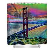 Golden Gate 1 Shower Curtain
