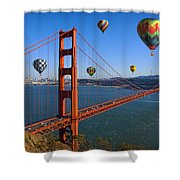The City Of Dreams Shower Curtain