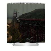 Golden Gate Bridge, California Shower Curtain