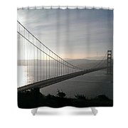 Golden Gate Bridge From Marin County Shower Curtain