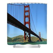 Golden Gate Bridge San Francisco Shower Curtain