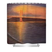 Golden Gate Bridge San Francisco Shower Curtain