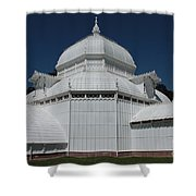 Golden Gate Conservatory Shower Curtain