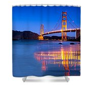Golden Gate Dreams Shower Curtain