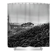 Golden Gate From Godfrey Shower Curtain