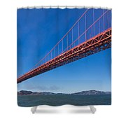 Golden Gate From The Bay Shower Curtain