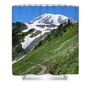 Golden Gate Trail Shower Curtain