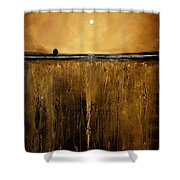 Golden Inspirations Shower Curtain