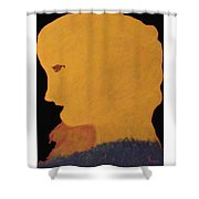 Golden Lady   -036 Shower Curtain