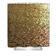 Golden Lake Shower Curtain