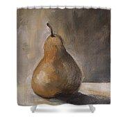 Golden Pear Shower Curtain