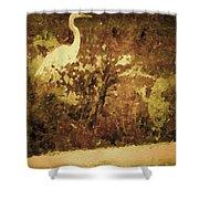 Golden Pond Shower Curtain