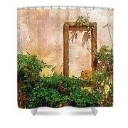 Golden Sun Golden Cat Shower Curtain