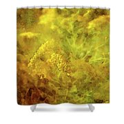 Golden Swirl 5082 Idp_2 Shower Curtain