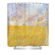 Golden Wheat Field Shower Curtain