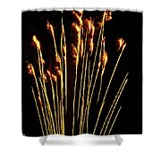 Goldenrod Shower Curtain