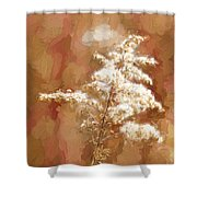 Goldenrod Plant In Fall Shower Curtain