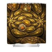 Goldfingers Shower Curtain