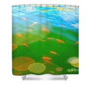 Goldfishes Shower Curtain