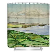 Goleen Vista Shower Curtain