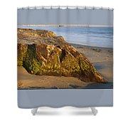 Goleta Pier  Shower Curtain